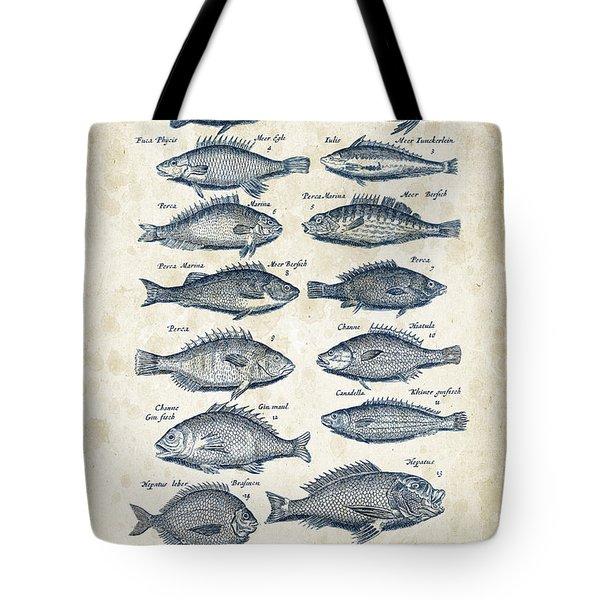 Fish Species Historiae Naturalis 08 - 1657 - 14 Tote Bag