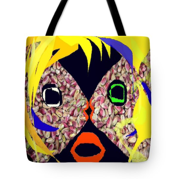 Fish With Pistachios Tote Bag by Navo Art