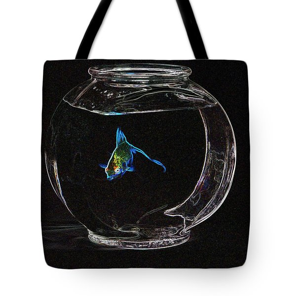 Fishbowl Tote Bag by Tim Allen