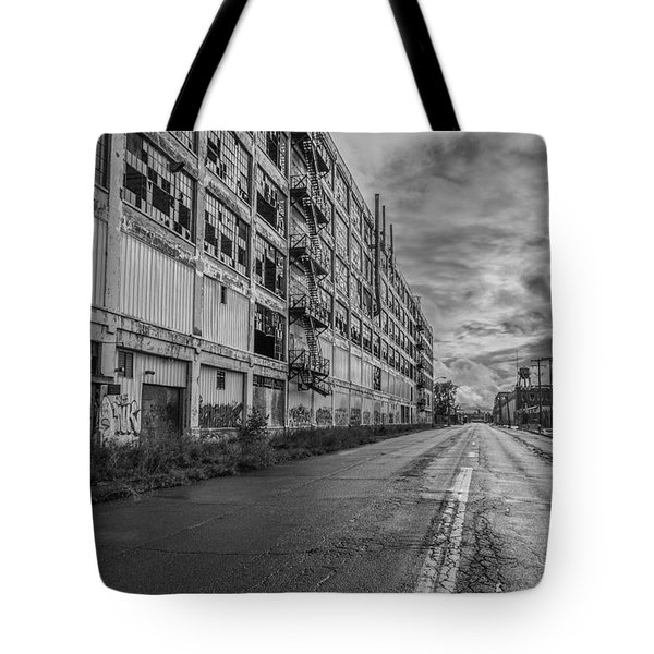 Fisher Body In Black And White  Tote Bag