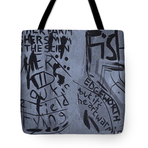 Fisher Covers Unmasked Tote Bag