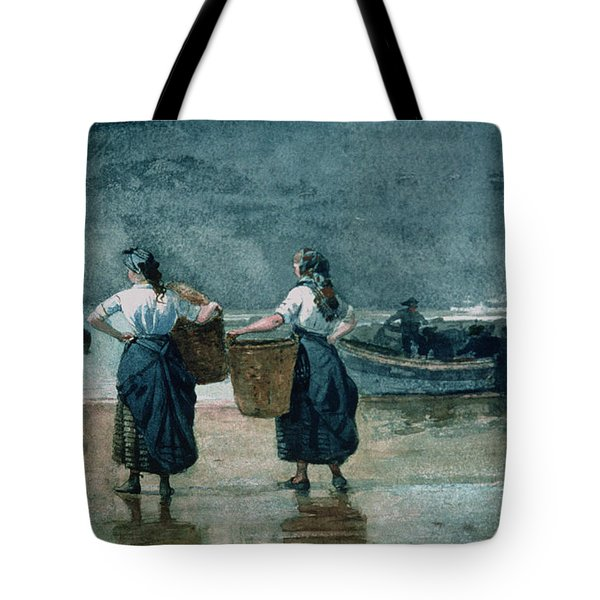 Fisher Girls By The Sea Tote Bag