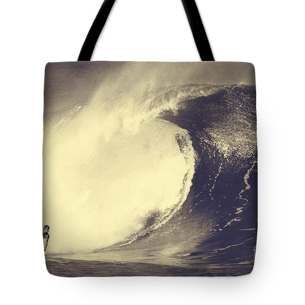 Fisher Heverly At Pipeline Tote Bag