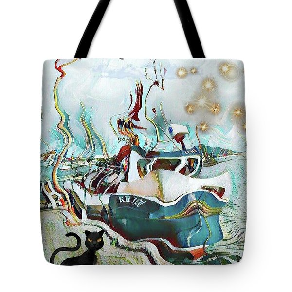 Fisherboat Tote Bag