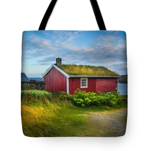 Fisherman House Tote Bag