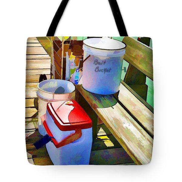 Fisherman's Buckets Tote Bag