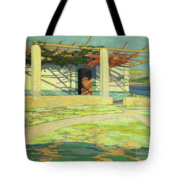 Fisherman's House, Puerta Pollensa Tote Bag