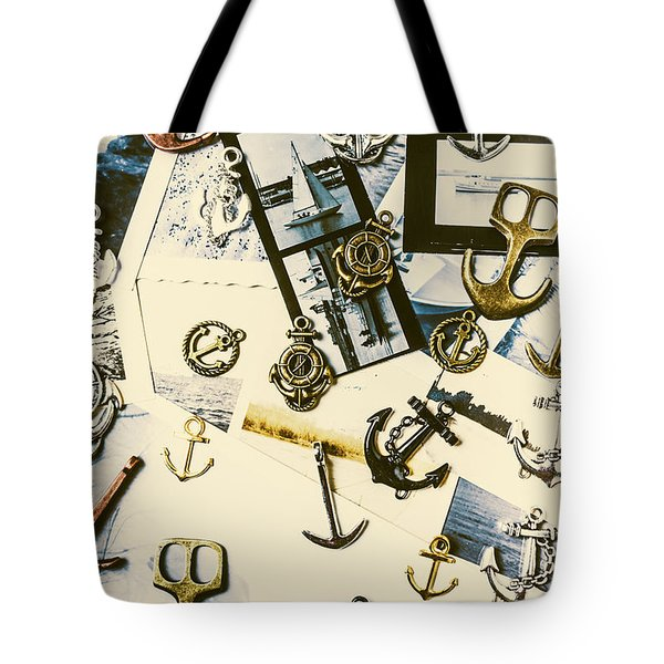 Fishermans Iconography  Tote Bag