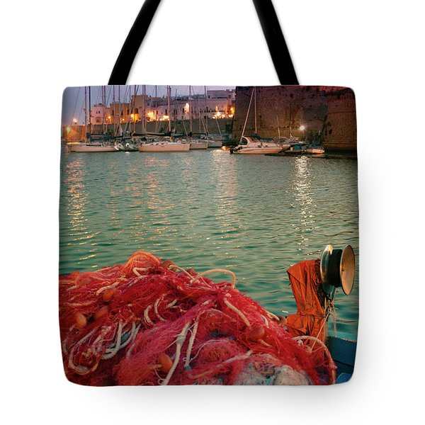 Fisherman's Net Tote Bag