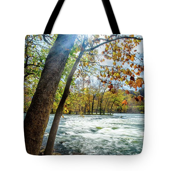 Fisherman's Paradise Tote Bag