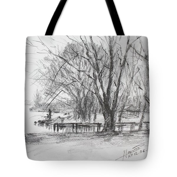 Fisherman's Park Tote Bag