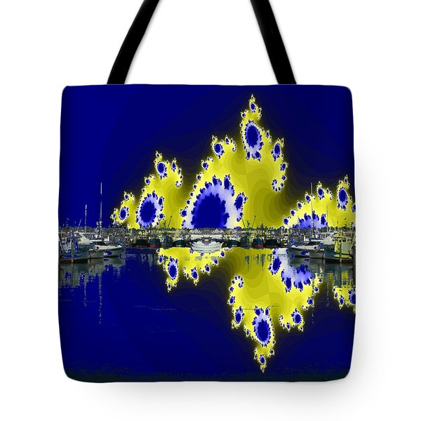 Fishermans Terminal Tote Bag by Tim Allen