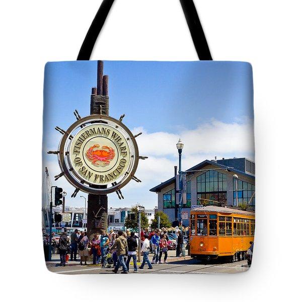 Fishermans Wharf - San Francisco Tote Bag