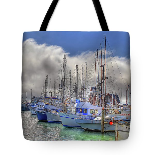 Tote Bag featuring the photograph Fisherman's Wharf by Donna Kennedy