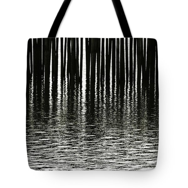 Tote Bag featuring the photograph Fishermans Wharf Provincetown by Charles Harden