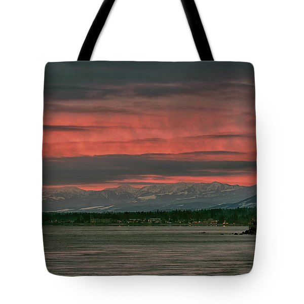 Tote Bag featuring the photograph Fishermans Wharf Sunrise by Randy Hall