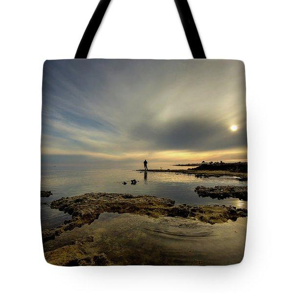 Fisherman's Zen  Tote Bag