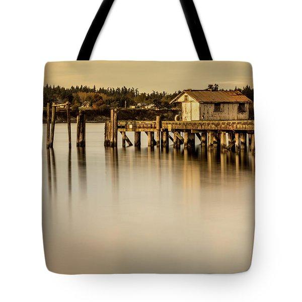 Fishermen Fuel Dock Tote Bag