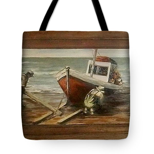 Fishermen S Evening Tote Bag by Natalia Tejera