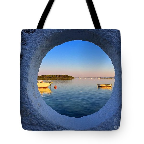 Fishermen Village- Italy Tote Bag