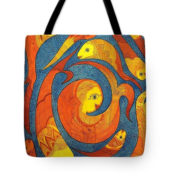 Water Queens  Tote Bag