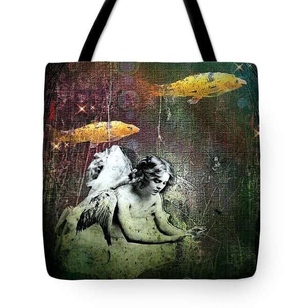 Fishes Wings Tote Bag