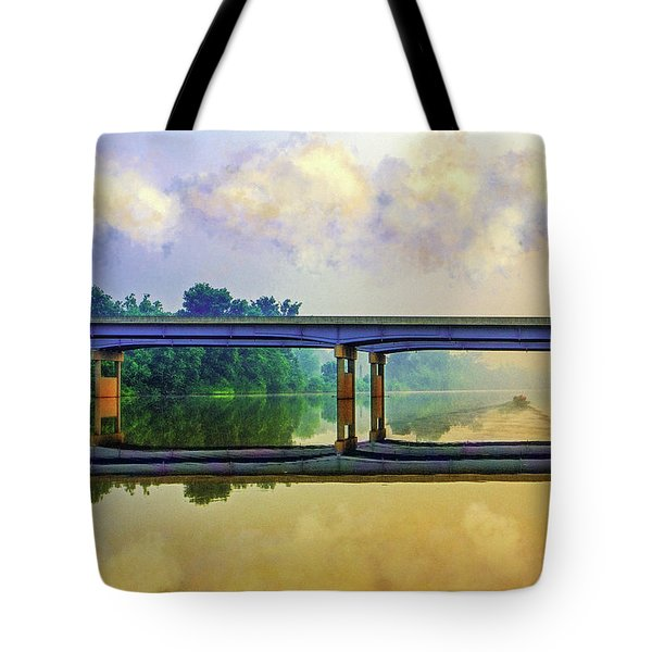 Fishin' For Angels Tote Bag