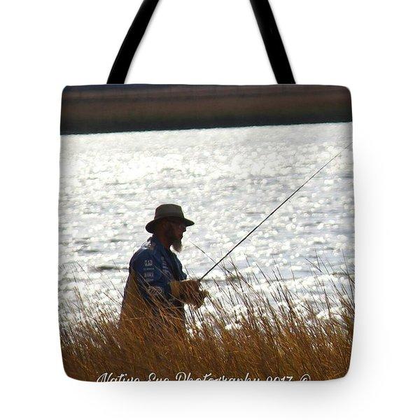Fishin Tote Bag