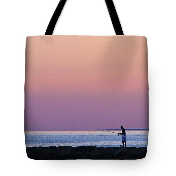 Dawn On Cape Cod Bay Tote Bag
