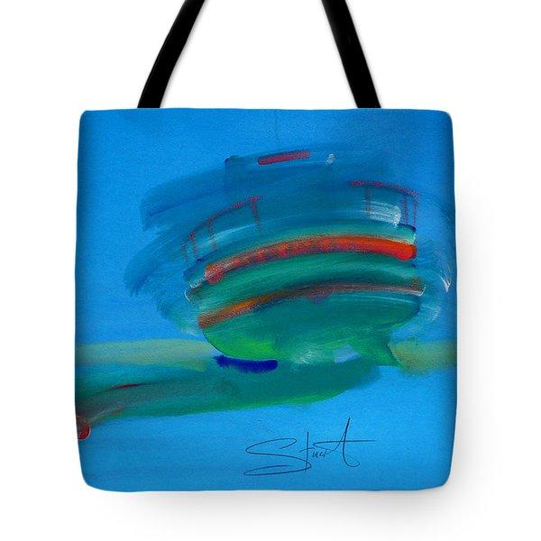 Fishing Boat Hastings Tote Bag by Charles Stuart
