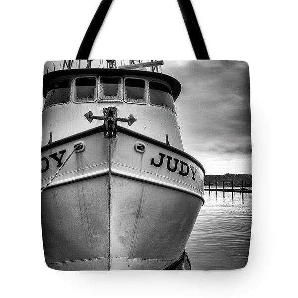 Fishing Boat Judy Tote Bag