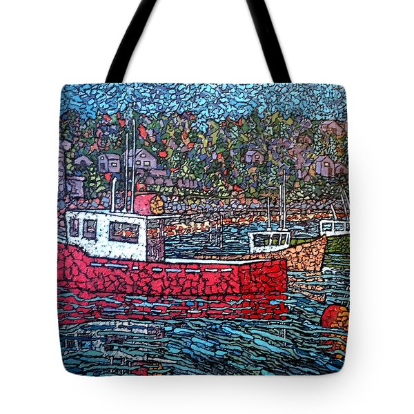 Fishing Boats - Beaver Harbour Tote Bag