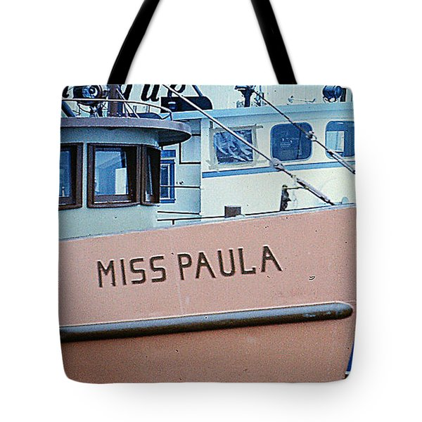 Tote Bag featuring the photograph Fishing Boats - Gloucester Ma by Merton Allen