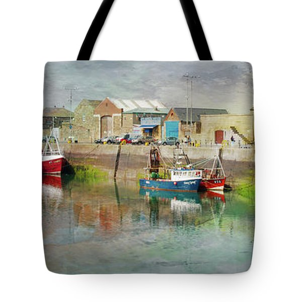 Fishing Boats In Ireland Tote Bag