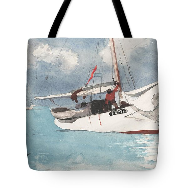Fishing Boats, Key West, 1903 Tote Bag