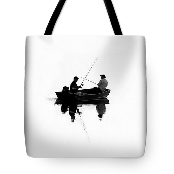 Fishing Buddies Tote Bag by David Lee Thompson