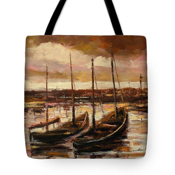 Fishing Cutters  Tote Bag