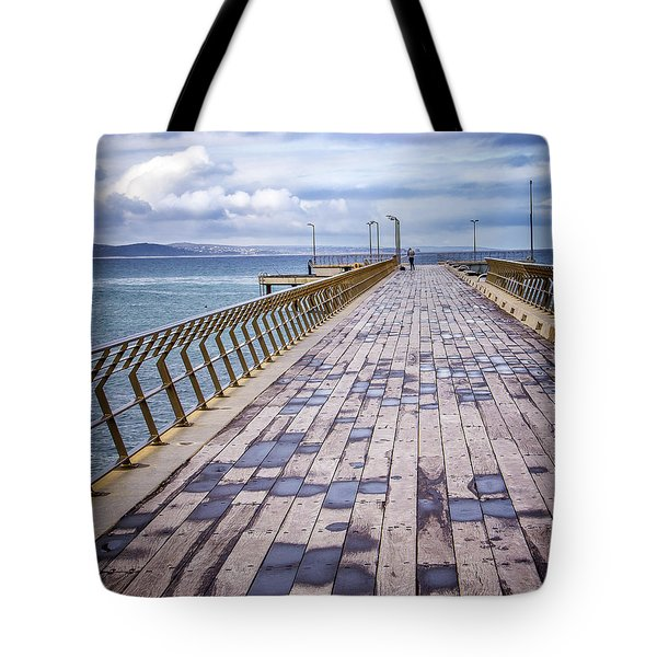 Tote Bag featuring the photograph Fishing Day by Perry Webster