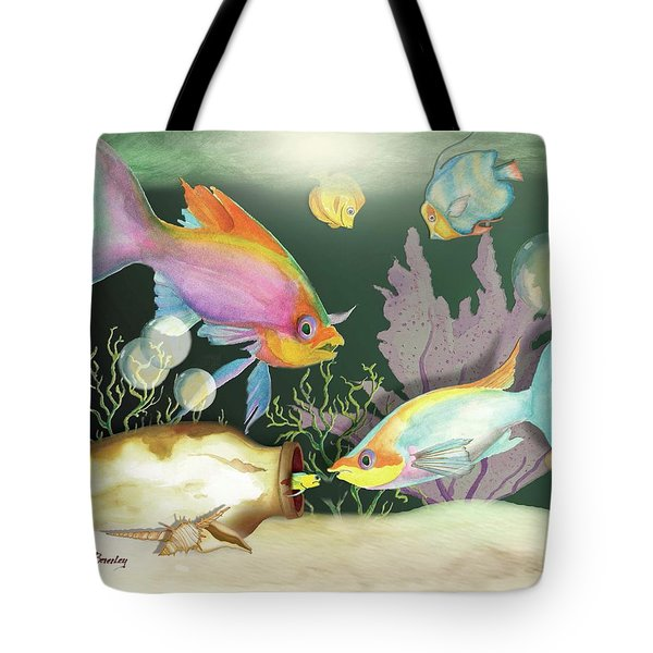 Fishing Expedition Tote Bag