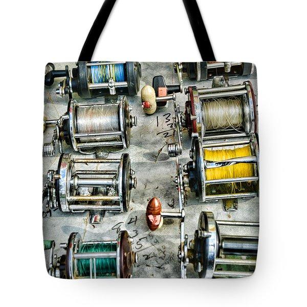 Fishing - Fishing Reels Tote Bag