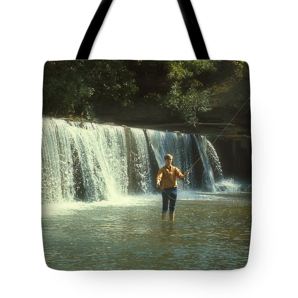 Fishing For Smallies Tote Bag