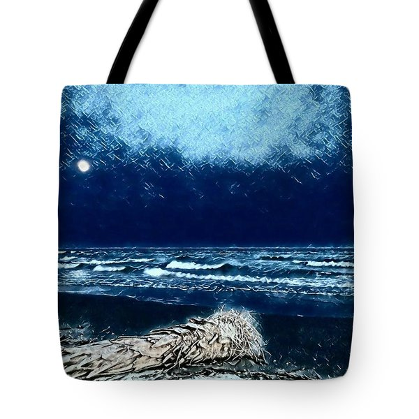 Fishing For The Moon Tote Bag