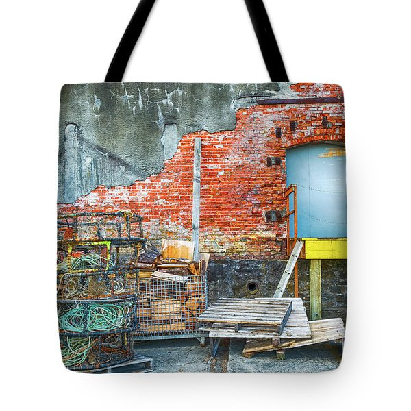 Fishing Gear Tote Bag