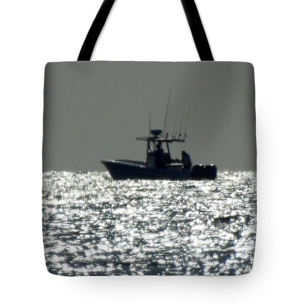 Fishing In Sanibel Tote Bag