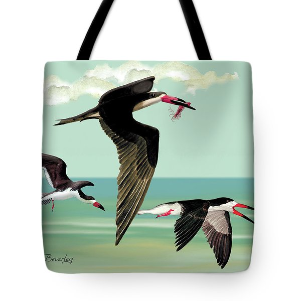 Fishing In The Gulf Tote Bag