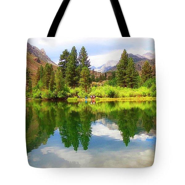 Fishing Intake 2 Tote Bag