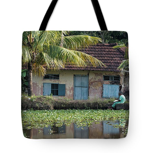 Fishing Tote Bag by Marion Galt