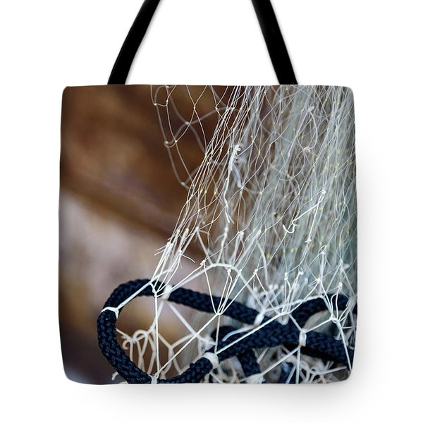 Fishing Net Details - Rovinj, Croatia Tote Bag