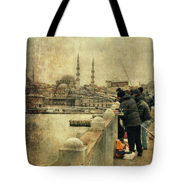 Fishing On The Bosphorus Tote Bag
