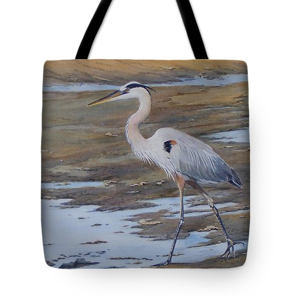 Fishing The Mud Flats...sold  Tote Bag